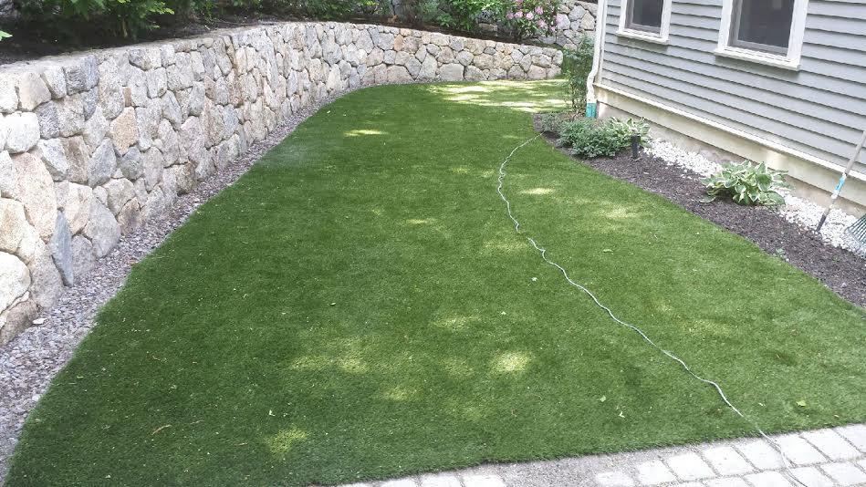 backyard synthetic turf