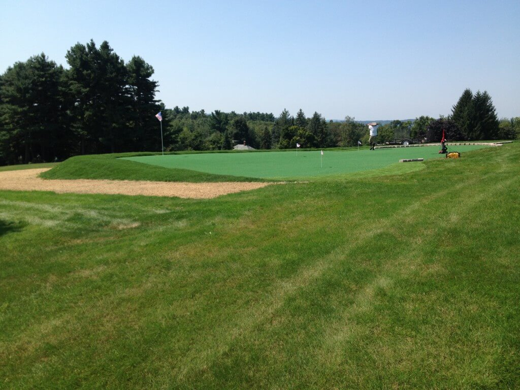 golf course in new england