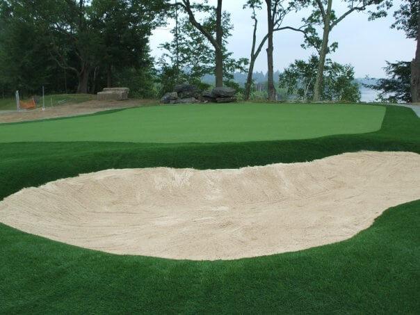 quiet golf course
