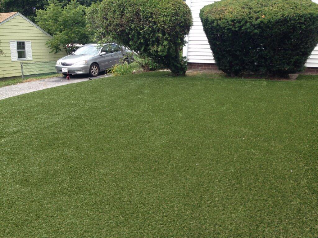 Waterless Grass Installation