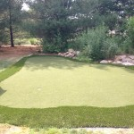 Small Putting Green Area