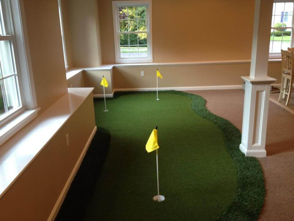 Pictures of Backyard Putting Greens & Synthetic Turf | Northeast ...