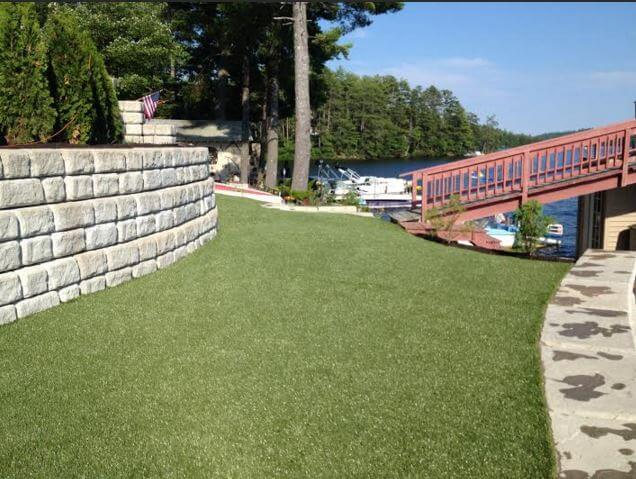 synthetic turf water