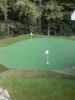 Putting green Chepequa NY