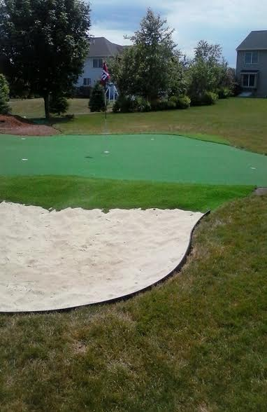 Putting green. Medway. MA