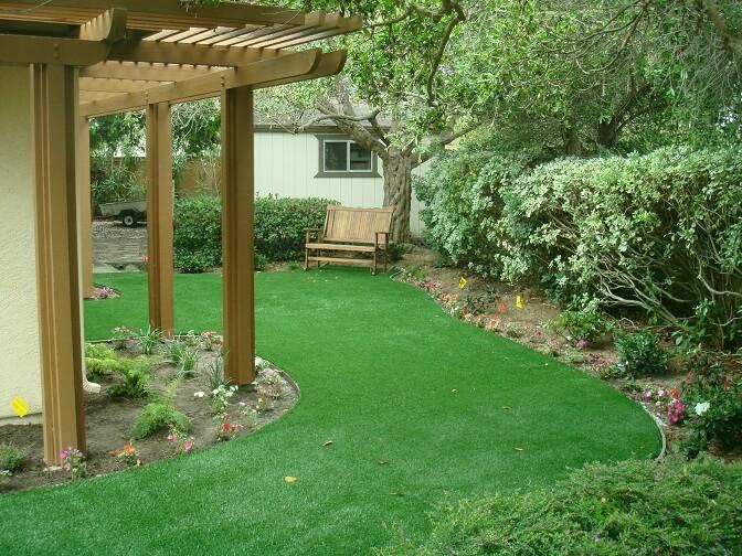 no mowing garden area
