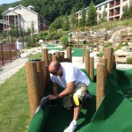 installation of synthetic turf